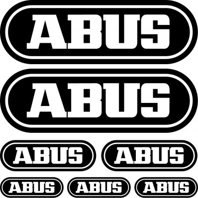 abus Decal Stickers kit