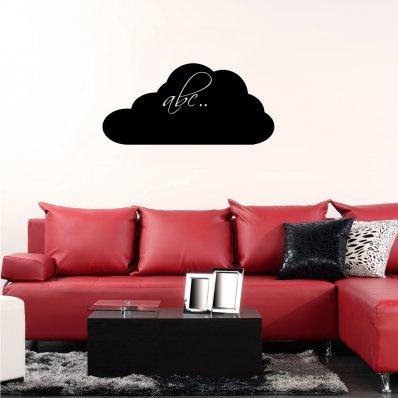 Adesivo Lavagna nuvola