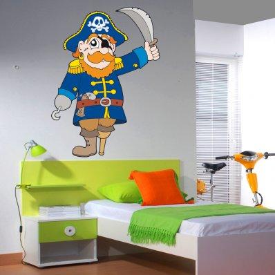 Adesivo Murale bambino Barbarossa