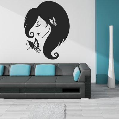 Adesivo Murale faccia