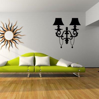 Adesivo Murale lampada