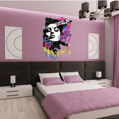 Adesivo Murale ''my style''