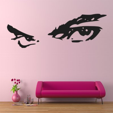 Adesivo Murale sguardo