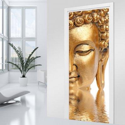 Adesivo per porte Buddha
