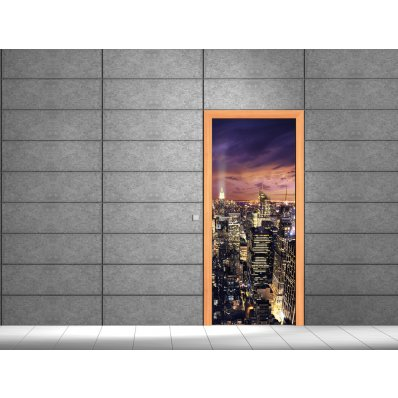 Adesivi follia adesivo per porte building - Adesivi decorativi per porte ...