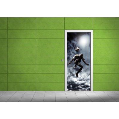 Adesivi follia adesivo per porte calcio - Adesivi decorativi per porte ...