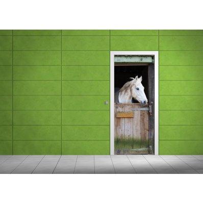 Adesivo per porte cavallo