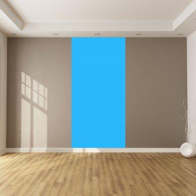Adhesivo por metro de color azul claro