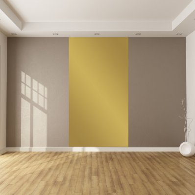 Adhesivo por metro de color dorado