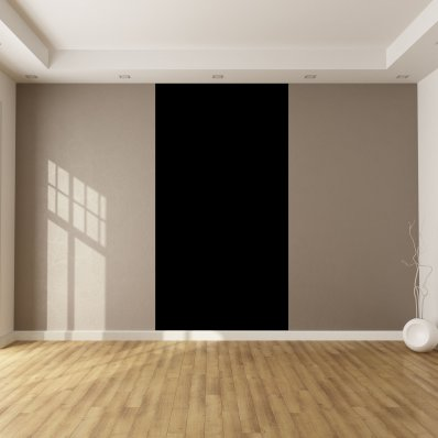 Adhesivo por metro de color negro