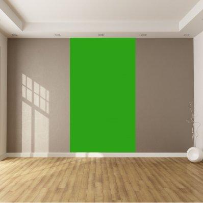 Adhesivo por metro de color verde