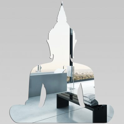 Akrylowe Lustro Plexiglas - Budda
