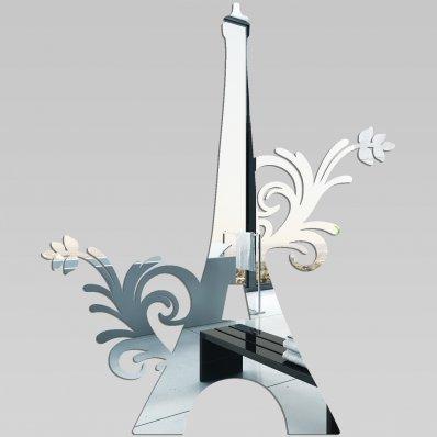 Akrylowe Lustro Plexiglas - Wieża Eiffla