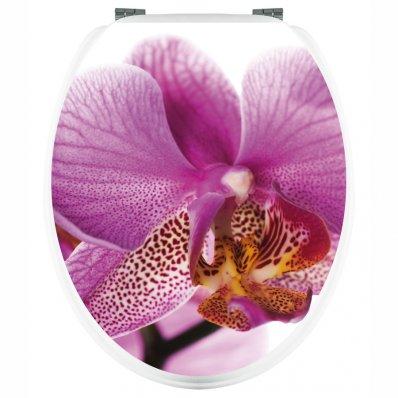 Aufkleber für Toilettendeckel Orchidee
