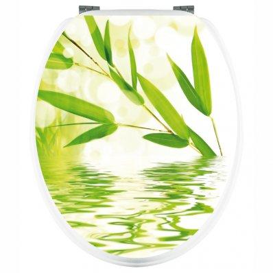Aufkleber für Toilettendeckel Zen