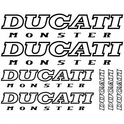Autocolant Ducati Monster