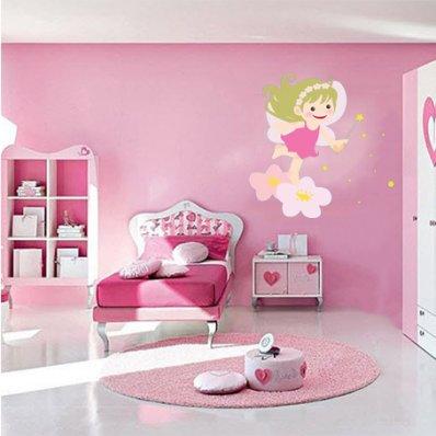Autocolante decorativo infantil fada