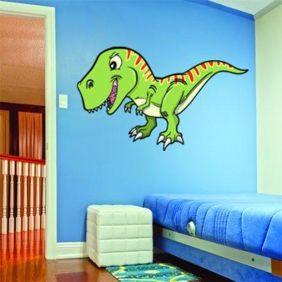 Autocolante decorativo infantil  tiranosaurio