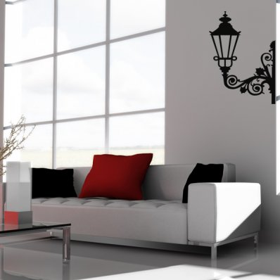 Autocolante decorativo lanterna