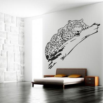 Autocolante decorativo leopardo
