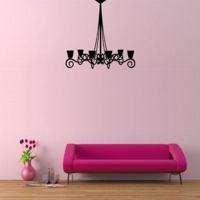 Autocolante decorativo lustre