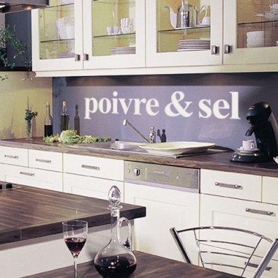Autocolante decorativo Poivre & Sel