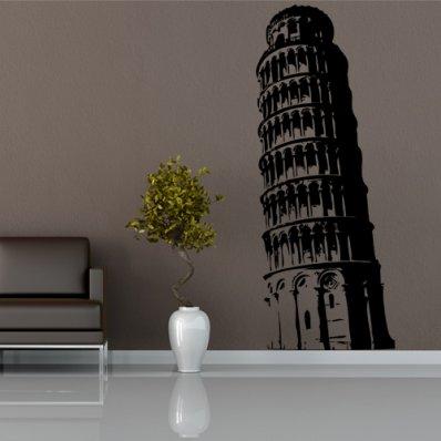 Autocolante decorativo Torre de Pisa