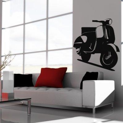 Autocolante decorativo Vespa