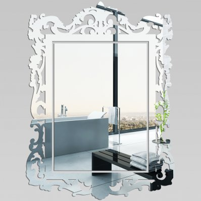 wallstickers folies baroque decorative mirrors acrylic. Black Bedroom Furniture Sets. Home Design Ideas