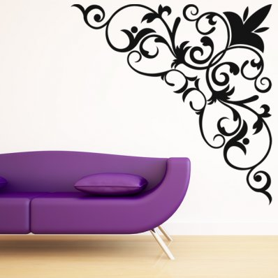 Baroque Wall Stickers