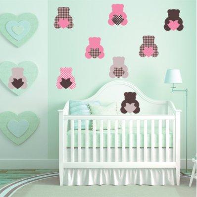 Bears Set Wall Stickers