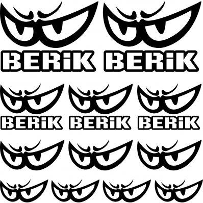 berik Decal Stickers kit