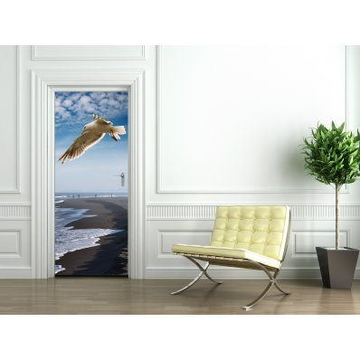 Bird Door Stickers
