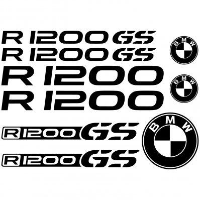 BMW r 1200gs Aufkleber-Set