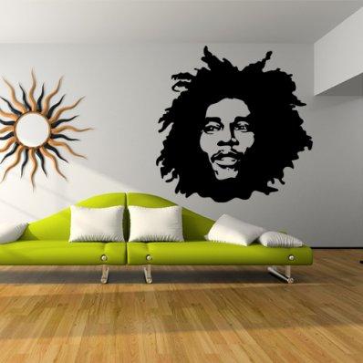 Bob Marley Wall Stickers