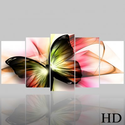 Butterfly - Triptych Forex Print