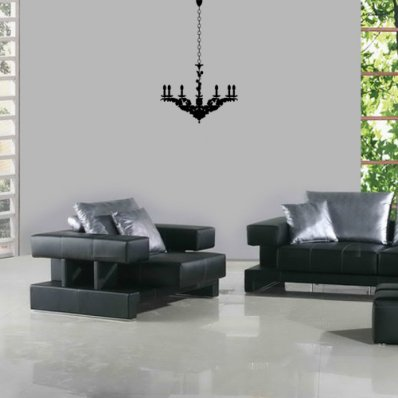 Chandelier Wall Stickers