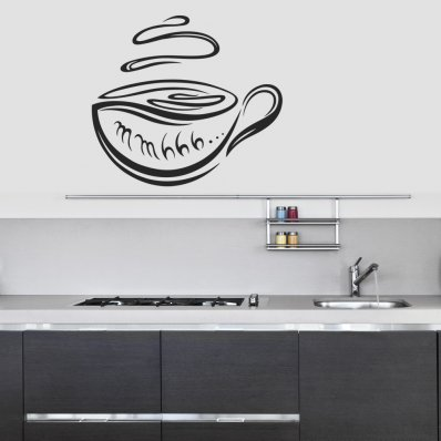 Coffee Cup Wall Stickers