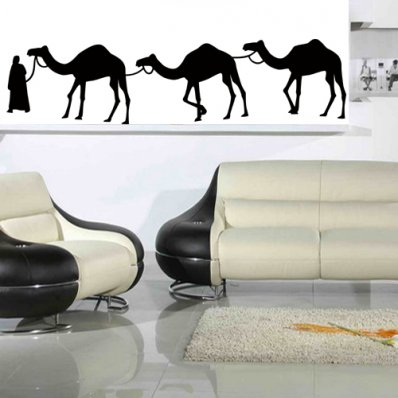 Dromedary Wall Stickers