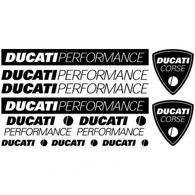 Ducati Performance Aufkleber-Set