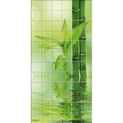 Fliesenaufkleber Bambus