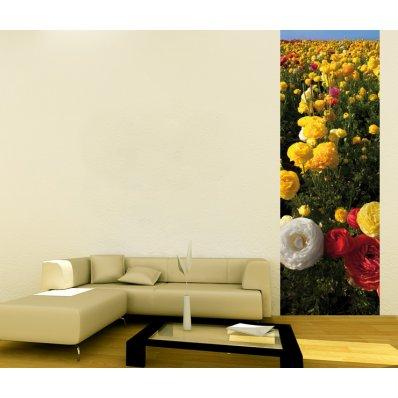 Fotomural único flores