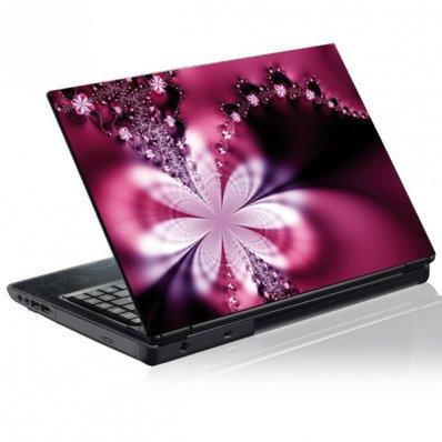 Graphic flower Laptop Skins