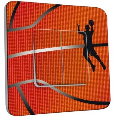 Interrupteur Décoré Double va et vient Basket-Ball Zoom
