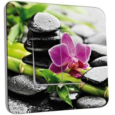 Stickers porte zen 2 pas cher for Porte zen fiber