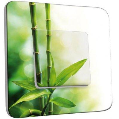 interrupteur d cor poussoir canne de bambou pas cher. Black Bedroom Furniture Sets. Home Design Ideas