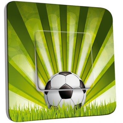 Interrupteur Décoré Simple Football 2