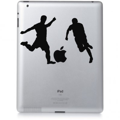 iPad 2 Aufkleber Fußball