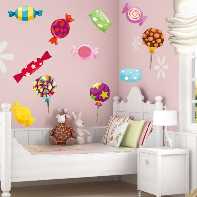 Kit Autocolante decorativo 15 Doces