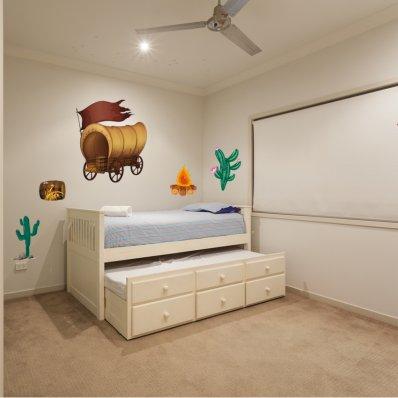 Kit Autocolante decorativo infantil vaqueiro